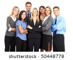 group of business people.... | Shutterstock . vector #50448778