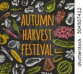 Autumn Harvest Festival Card...