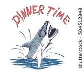 Funny Shark .dinner Time....