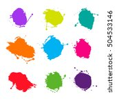 paint splat | Shutterstock .eps vector #504533146
