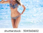 woman with perfect body in... | Shutterstock . vector #504560602
