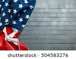 american flag   Shutterstock . vector #504583276