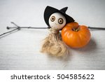 Halloween Doll And Candle...