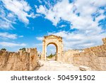 Triumphal Arch In Tyre  Lebano...