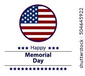honoring all who served banner... | Shutterstock .eps vector #504645922