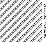 seamless diagonal stripe... | Shutterstock .eps vector #504649612