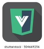 vector web development shield...