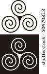 ancient celtic design   Shutterstock .eps vector #50470813
