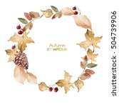 autumn set | Shutterstock . vector #504739906