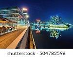 dusseldorf medienhafen  germany  | Shutterstock . vector #504782596
