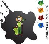 gardener | Shutterstock .eps vector #50478676