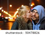 street of night coldly fall... | Shutterstock . vector #50478826