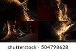 sports background. sport... | Shutterstock . vector #504798628