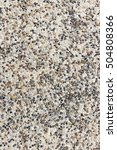 Small photo of rough texture surface of exposed aggregate finish, Ground stone washed floor, made of small sand stone in light brown color