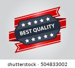high quality badge. best... | Shutterstock .eps vector #504833002
