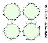 empty frame vector symbol icon...   Shutterstock .eps vector #504840208