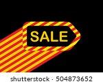 sale tag. vector illustration    Shutterstock .eps vector #504873652