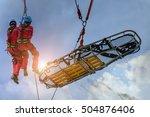emergency response. | Shutterstock . vector #504876406