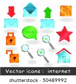 pro icons for web  presentation | Shutterstock .eps vector #50489992