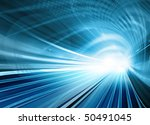 blue abstract illustration of a ... | Shutterstock . vector #50491045