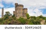 edinburgh castle | Shutterstock . vector #504914605