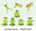 frogs   vector | Shutterstock .eps vector #50491549