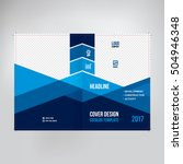cover for catalogue  brochure ... | Shutterstock .eps vector #504946348