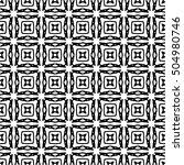 line ornament pattern. black... | Shutterstock .eps vector #504980746