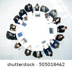 business conference. business...   Shutterstock . vector #505018462
