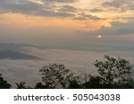 Morning Scene Over The Mountain ...