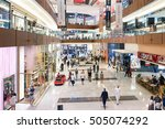 dubai  uae   15 october  2014 ... | Shutterstock . vector #505074292