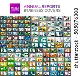 mega collection of annual... | Shutterstock . vector #505076308