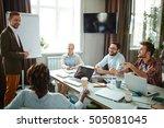 voicing ideas | Shutterstock . vector #505081045