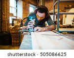 furniture making | Shutterstock . vector #505086625