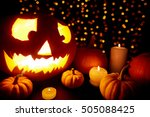 mysterious night | Shutterstock . vector #505088425