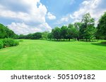 wachirabenchathat park  state... | Shutterstock . vector #505109182