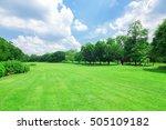 wachirabenchathat park  state... | Shutterstock . vector #505109182