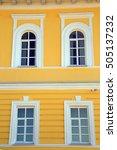 isolated closeup vintage window ...   Shutterstock . vector #505137232