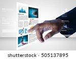 digital illustration of man... | Shutterstock . vector #505137895