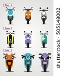 vintage  the front of... | Shutterstock .eps vector #505148002