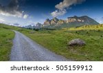 road in the mountains   the... | Shutterstock . vector #505159912