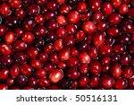 Macro   Cranberries