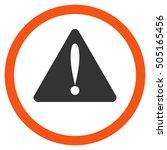 warning error glyph bicolor...