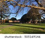 rotorua government garden and... | Shutterstock . vector #505169146