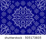 christmas and new year seamless ... | Shutterstock .eps vector #505173835