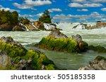 Khone Phapheng Falls On...