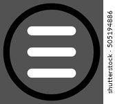 menu glyph bicolor rounded icon....