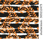 elegant seamless pattern with... | Shutterstock . vector #505212475