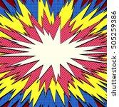 explosion vector illustration....   Shutterstock .eps vector #505259386