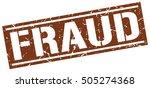 fraud. grunge vintage fraud...